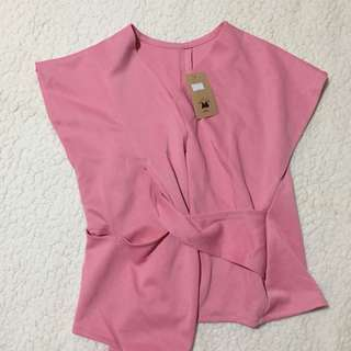 Pink Knot Top