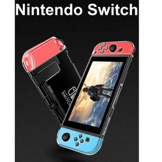 🚚 ★ Nintendo Switch 3 in 1 Transparent Crystal Clear Hard Case