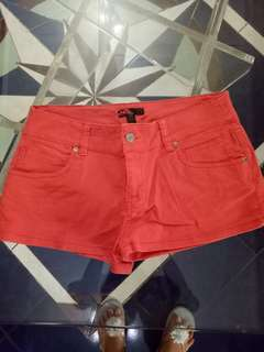 Hot pants forever21