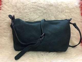 Crossbody/Sling Bag in Teal Green