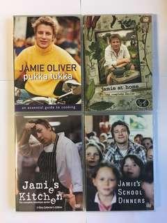 4 Jamie Oliver DVDs