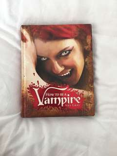 How To Be A Vampire Book
