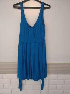 Topshop Blue Dress