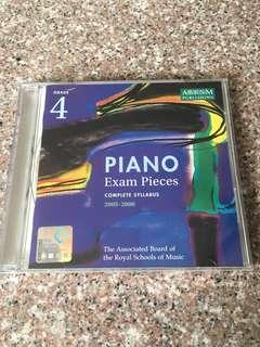 ABRSM Grade 4 Piano Exam Pieces