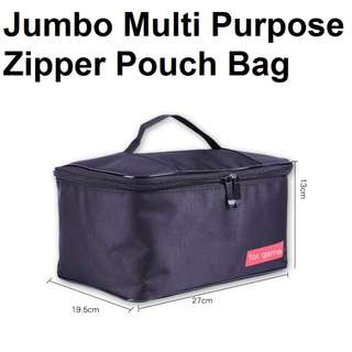 🚚 ★ Nintendo Switch Jumbo Multi Purpose Pouch Zipper Bag Pouch