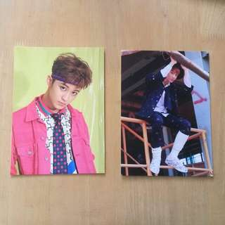 NCT 127 Mark Cherry bomb postcard