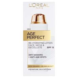 *NEW* L'Oreal Age Perfect Lotion