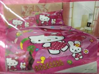 Hello Kitty Bedsheet