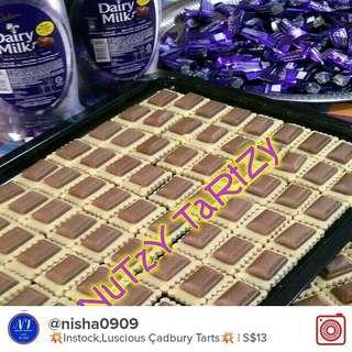💕Instock,Cadbury Milk Tartzy Tarts💕