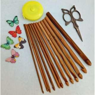 Crochet Set - Butterfly