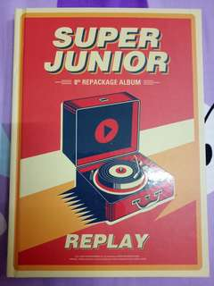 Super Junior Repackage Album REPLAY