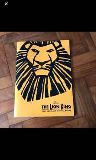The lion king magazine