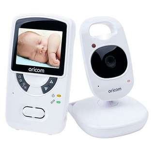 Secure703 2.4″ Digital Video Baby Monitor. High quality 2.4 color LCD display. Night vision
