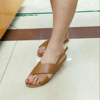 Strappy Korean flat Sandals RL64