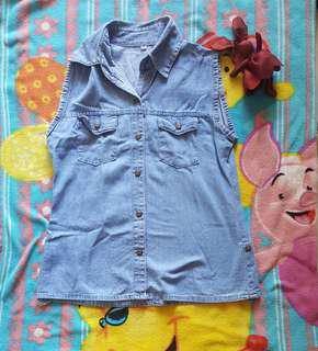Baju jeans denim