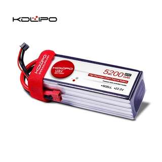 🚚 KD Lipo 5200mAh 11.1V 3s 60C - In Stock!!