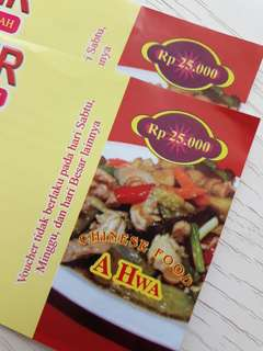 Voucher ahwa 50rb exp 22 agust