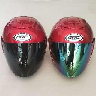 Arc Helmet (Maroon)