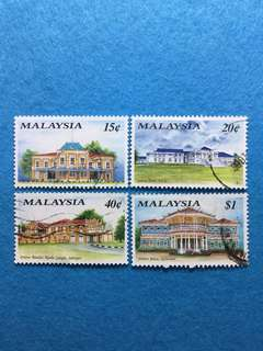 1991 Historical Buildings (2nd Series) 4 Values Used Set