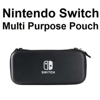 🚚 ★ Nintendo Switch Premium Black Protective Zipper Bag Pouch Case