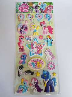 [BN] 3D My Little Pony Puffy Stickers