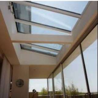 Glass Canopy Roofing