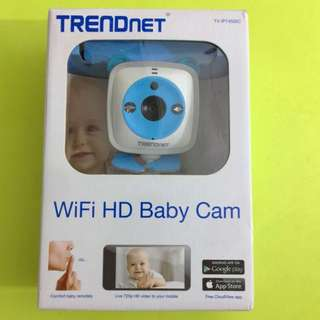TRENDnet Wifi HD Baby Cam (barely used)
