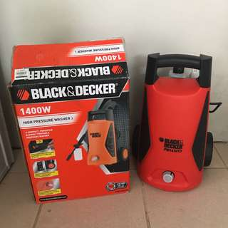 Black Decker High Pressure Washer