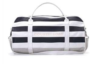 Country Road Nautical Stripe Logo Tote