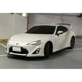 <小馬愛車> 2013 Toyota 86 2.0 白