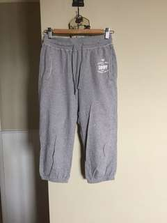 🚚 Lativ 六分棉質運動褲