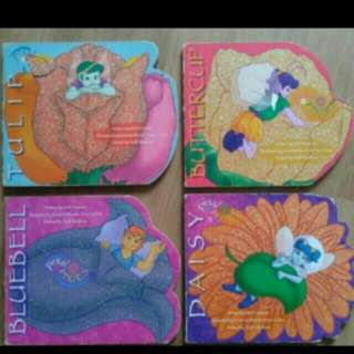 PIXIE PETAL Board Books (Set Of 4)