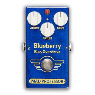 Mad Professor Blue Berry Bass Overdrive effect Pedal