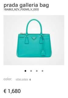 Prada Galleria Saffiano 皮革手袋