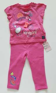 Brand New Mothercare t-shirt and legging set
