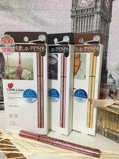 🚚 MSH Love Liner 隨心所欲防水抗暈快乾眼線液 (全新正品)