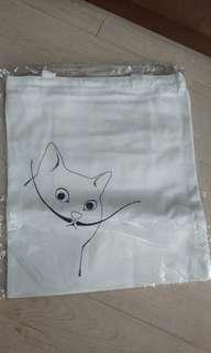 文青貓貓環保袋