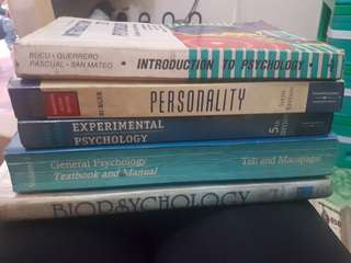 Psychology Books for Sale!
