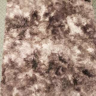 Marble Feather Floor Carpet From Korea