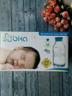 BKA breastmilk glass bottle (hanya 4pcs)