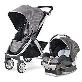 Chicco Bravo Travel System Stroller