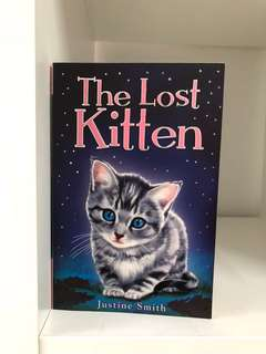 English book- The lost kitten
