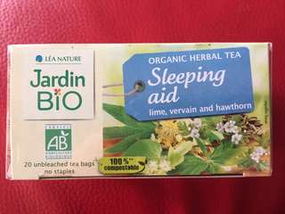 有機花茶 Organic tea to sleep better