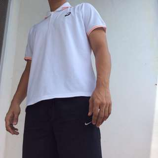 Asics motion-dry polo shirt