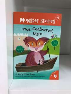 English book- The feathered ogre