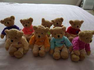 Bears- multiple nationalities