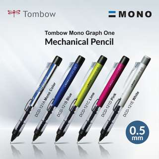 Tombow DCD-121 Mono Graph One Mechanical Pencil - 0.5 mm
