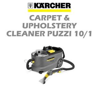 Cushion and carpet cleaner