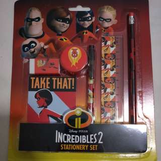 Incredible 2 Stationery Set