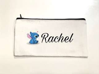 Customised Zip pencil case/drawstring pouch